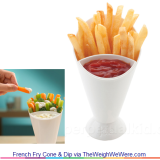 French Fry Cone & Dip – the 2-in-1 Accessory for Delicious Food Combos