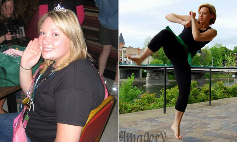 Great success story! Read before and after fitness transformation stories from women and men who hit weight loss goals and got THAT BODY with training and meal prep. Find inspiration, motivation, and workout tips | I Lost Weight: Kate Riley Discovered A Love Of Mixed Martial Arts And Lost 110 Pounds