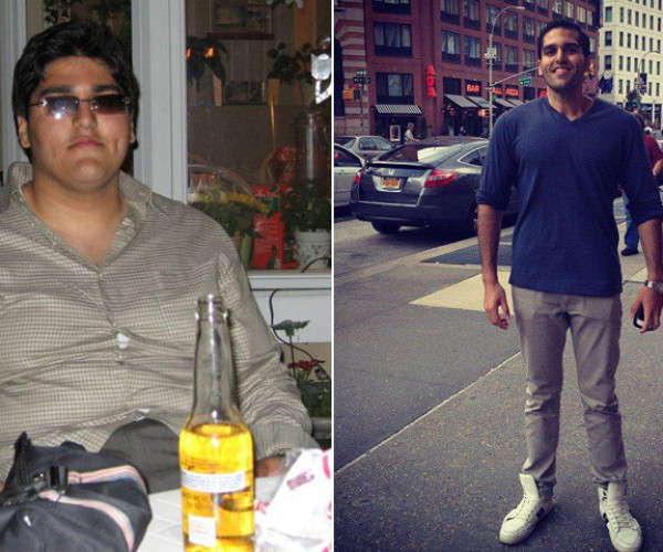 I Lost Weight: Kishan Shah Taught Himself About Nutrition And Exercise And Lost 205 Pounds