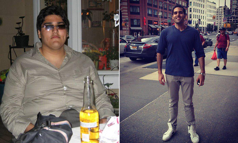 Great success story! Read before and after fitness transformation stories from women and men who hit weight loss goals and got THAT BODY with training and meal prep. Find inspiration, motivation, and workout tips | I Lost Weight: Kishan Shah Taught Himself About Nutrition And Exercise And Lost 205 Pounds