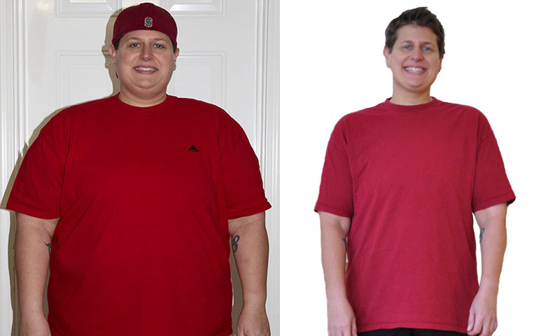 Great success story! Read before and after fitness transformation stories from women and men who hit weight loss goals and got THAT BODY with training and meal prep. Find inspiration, motivation, and workout tips | Krista Lost 136 Pounds