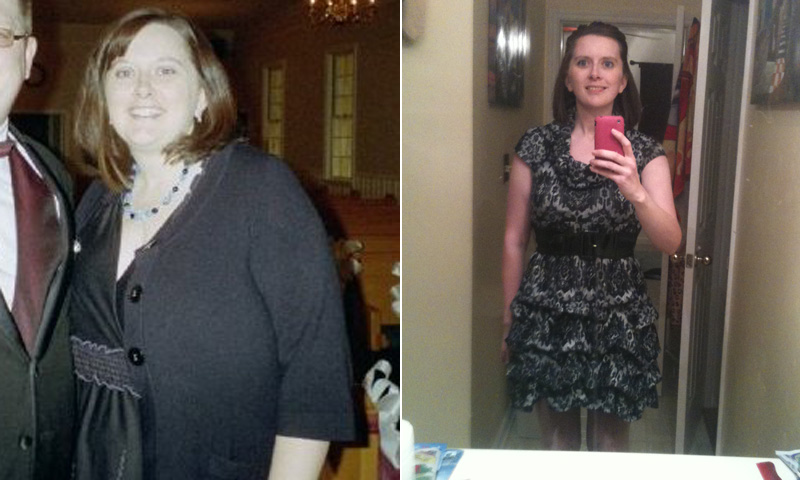 Great success story! Read before and after fitness transformation stories from women and men who hit weight loss goals and got THAT BODY with training and meal prep. Find inspiration, motivation, and workout tips | I Lost Weight: An Office Competition Helped Leah Smith Lose 122 Pounds