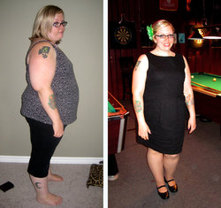 Losing 87 lbs and 10 Dress Sizes!