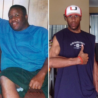 Great success story! Read before and after fitness transformation stories from women and men who hit weight loss goals and got THAT BODY with training and meal prep. Find inspiration, motivation, and workout tips | 170 Pounds Lost: Dr. Lee Coleman, Jr. Walks the Weight Off — And Sets an Example