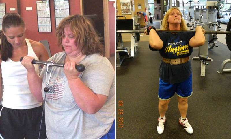 Great success story! Read before and after fitness transformation stories from women and men who hit weight loss goals and got THAT BODY with training and meal prep. Find inspiration, motivation, and workout tips | I Lost Weight: After Being Diagnosed With Diabetes, Lori Yates Lost 130 Pounds