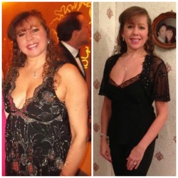 Lorraine lost 50 pounds! See my before and after weight loss pictures, and read amazing weight loss success stories from real women and their best weight loss diet plans and programs. Motivation to lose weight with walking and inspiration from before and after weightloss pics and photos.