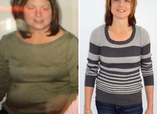 73 Pounds Lost: Peg Relieves Menopause Symptoms By Jogging at Home