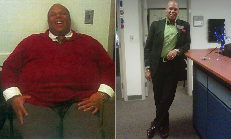 Great success story! Read before and after fitness transformation stories from women and men who hit weight loss goals and got THAT BODY with training and meal prep. Find inspiration, motivation, and workout tips | I Lost Weight: Marlon Gibson Worked With A Fitness Coach And Lost 250 Pounds