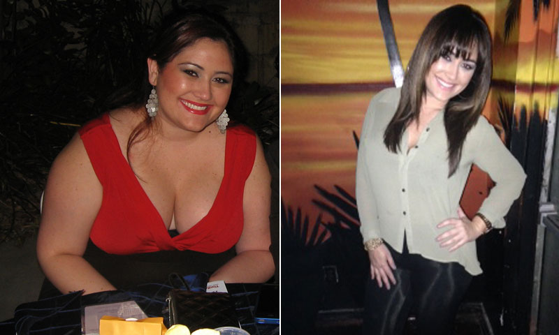Great success story! Read before and after fitness transformation stories from women and men who hit weight loss goals and got THAT BODY with training and meal prep. Find inspiration, motivation, and workout tips | Melissa Vidal Lost 100 Pounds Without Dieting