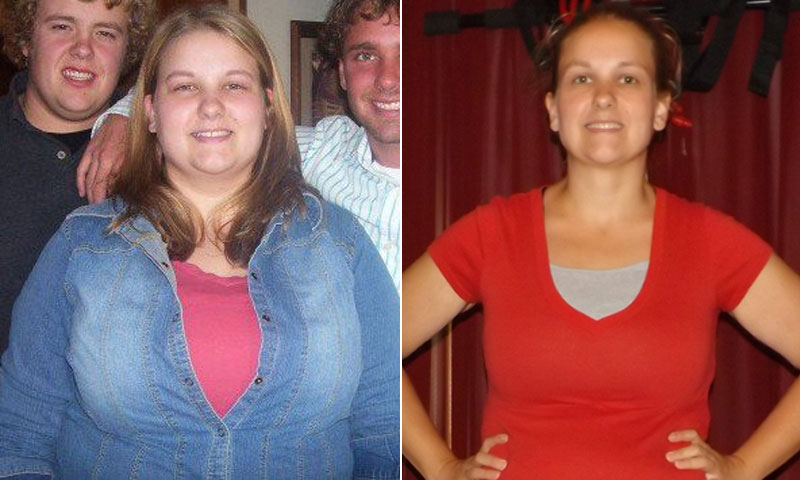 Great success story! Read before and after fitness transformation stories from women and men who hit weight loss goals and got THAT BODY with training and meal prep. Find inspiration, motivation, and workout tips | I Lost Weight: A Family Picture On Facebook Inspired Melody Millay To Lose 100 Pounds