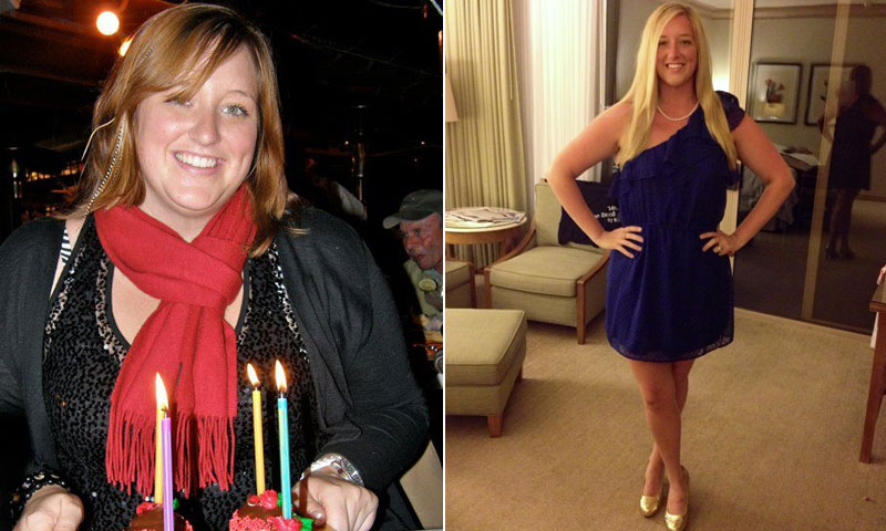Great success story! Read before and after fitness transformation stories from women and men who hit weight loss goals and got THAT BODY with training and meal prep. Find inspiration, motivation, and workout tips | I Lost Weight: With The Help Of A Weight Loss Center, Michaela Brennan Lost 63 Pounds