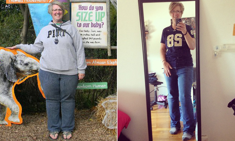 Great success story! Read before and after fitness transformation stories from women and men who hit weight loss goals and got THAT BODY with training and meal prep. Find inspiration, motivation, and workout tips | I Lost Weight: Samantha Crossley Lost More Than 90 Pounds With The Help Of Two Apps