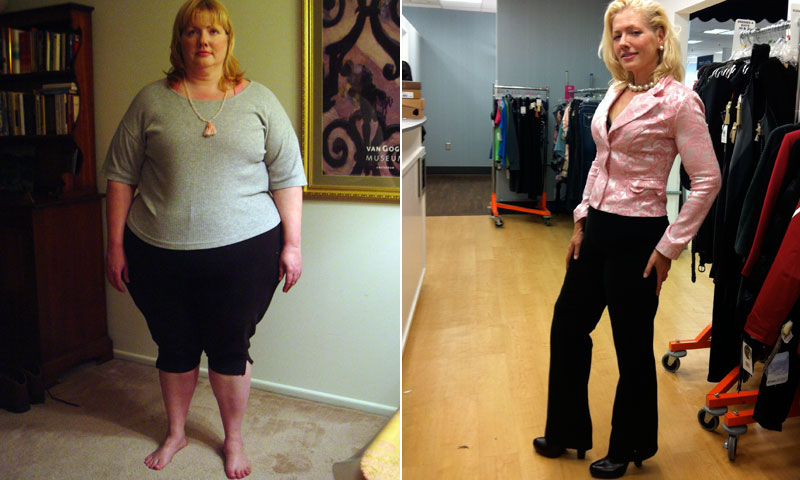 Great success story! Read before and after fitness transformation stories from women and men who hit weight loss goals and got THAT BODY with training and meal prep. Find inspiration, motivation, and workout tips | I Lost Weight: After Being Inspired By Carnie Wilson, Stacey Morris Lost 185 Pounds
