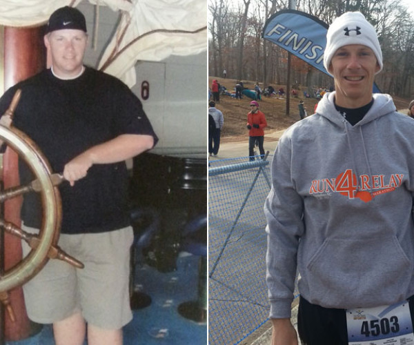 Tommy Smith Ditched Fast Food And Cigarettes And Lost 155 Pounds