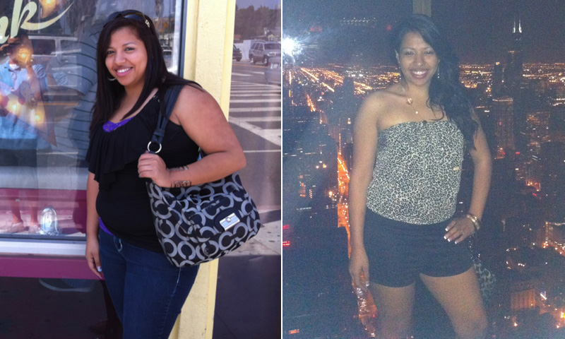 Great success story! Read before and after fitness transformation stories from women and men who hit weight loss goals and got THAT BODY with training and meal prep. Find inspiration, motivation, and workout tips | I Lost Weight: Yariza Mejia Joined An Office Weight Loss Competition And Lost 40 Pounds