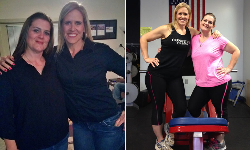 Great success story! Read before and after fitness transformation stories from women and men who hit weight loss goals and got THAT BODY with training and meal prep. Find inspiration, motivation, and workout tips | Friends Nancy And Sara Lost Nearly 400 Pounds Together