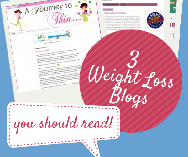 Thursday 3:  Weight Loss Blogs You Should Read