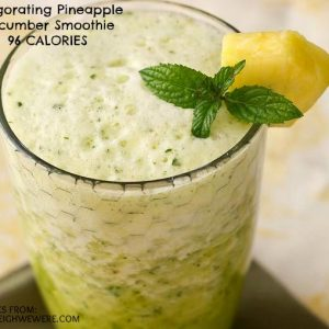 Invigorating_Pineapple-Cucumber_Smoothie
