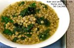Great success story! Read before and after fitness transformation stories from women and men who hit weight loss goals and got THAT BODY with training and meal prep. Find inspiration, motivation, and workout tips   Kale and Lentil Soup with Thyme and Garlic   265 Calories