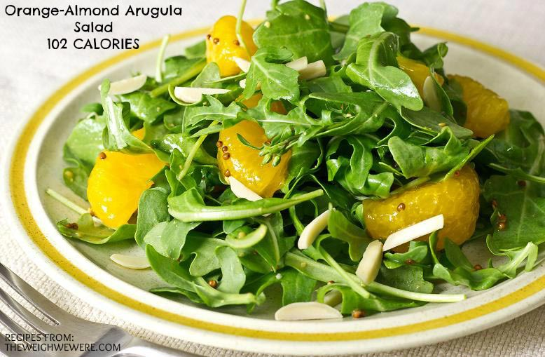 Great success story! Read before and after fitness transformation stories from women and men who hit weight loss goals and got THAT BODY with training and meal prep. Find inspiration, motivation, and workout tips | Orange Almond Arugula Salad   102 Calories