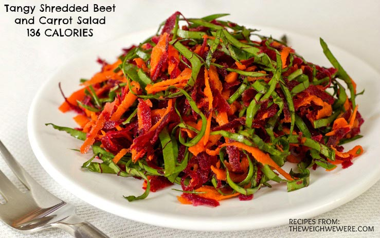 Great success story! Read before and after fitness transformation stories from women and men who hit weight loss goals and got THAT BODY with training and meal prep. Find inspiration, motivation, and workout tips | Tangy Shredded Beet and Carrot Salad   136 Calories