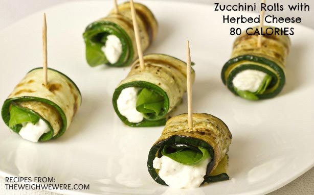 Great success story! Read before and after fitness transformation stories from women and men who hit weight loss goals and got THAT BODY with training and meal prep. Find inspiration, motivation, and workout tips | Zucchini Rolls with Herbed Cheese   80 Calories