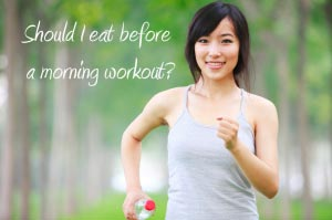 Want to burn more fat? Exercise on an empty stomach!