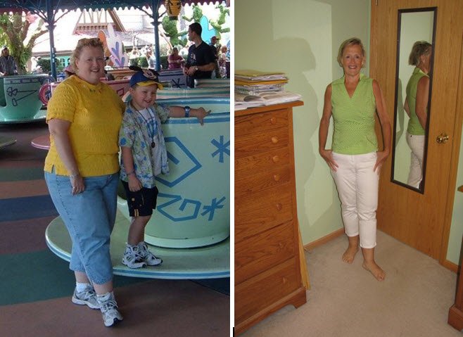 Great success story! Read before and after fitness transformation stories from women and men who hit weight loss goals and got THAT BODY with training and meal prep. Find inspiration, motivation, and workout tips | 150 Pound Weight Loss Transformation at Age 50!
