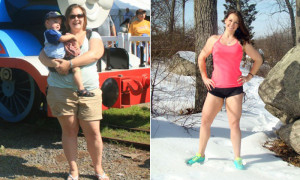 Great success story! Read before and after fitness transformation stories from women and men who hit weight loss goals and got THAT BODY with training and meal prep. Find inspiration, motivation, and workout tips | Coty Lost 80 Pounds To Become A Strong Mama!