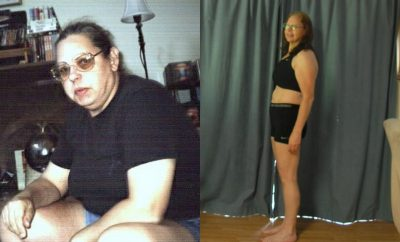 I lost weight at 58 years old!