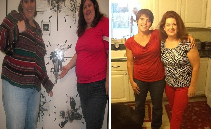 Great success story! Read before and after fitness transformation stories from women and men who hit weight loss goals and got THAT BODY with training and meal prep. Find inspiration, motivation, and workout tips | Military wives lose almost 300 pounds