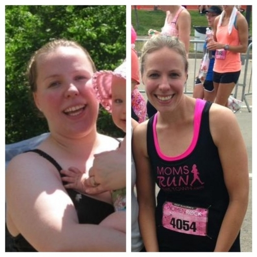 Great success story! Read before and after fitness transformation stories from women and men who hit weight loss goals and got THAT BODY with training and meal prep. Find inspiration, motivation, and workout tips | Gym class failure to half marathoner
