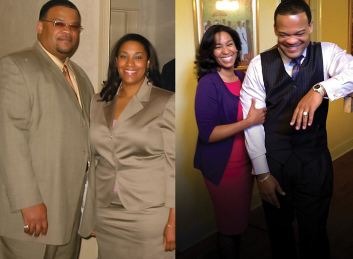 Great success story! Read before and after fitness transformation stories from women and men who hit weight loss goals and got THAT BODY with training and meal prep. Find inspiration, motivation, and workout tips | New Orleans couple drops a combined 300lbs, one BetterChoice at a time.