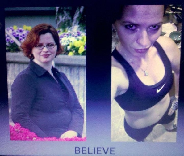 Great success story! Read before and after fitness transformation stories from women and men who hit weight loss goals and got THAT BODY with training and meal prep. Find inspiration, motivation, and workout tips | 100 pounds lost....a new life gained.