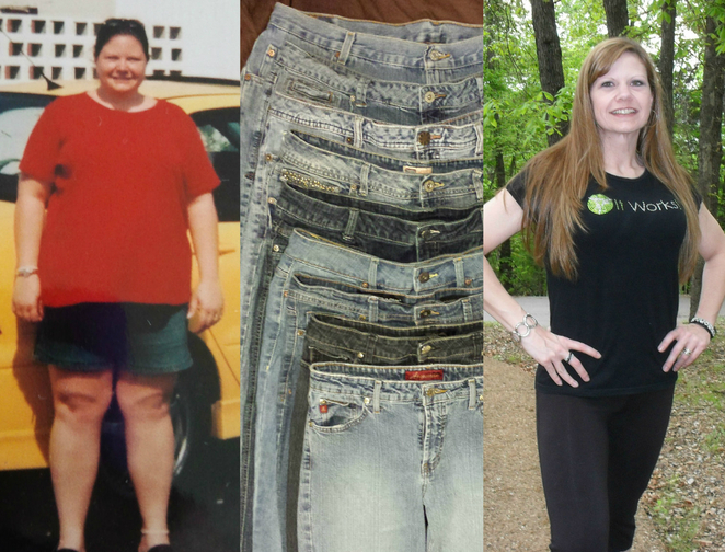 Great success story! Read before and after fitness transformation stories from women and men who hit weight loss goals and got THAT BODY with training and meal prep. Find inspiration, motivation, and workout tips | Pam Kimbro   After losing Father took his advise and went on to lose 150lbs.