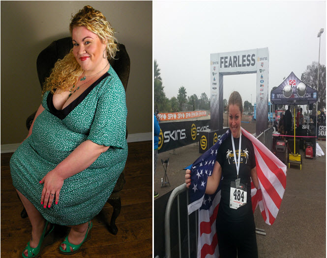 Great success story! Read before and after fitness transformation stories from women and men who hit weight loss goals and got THAT BODY with training and meal prep. Find inspiration, motivation, and workout tips | From Self Defeat to Triathlete