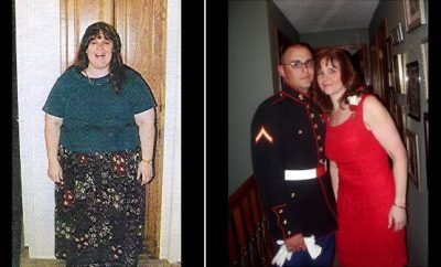 Becky Griggs lost 200 Pounds!