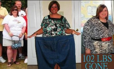 102 LBS GONE in 8 MONTHS!