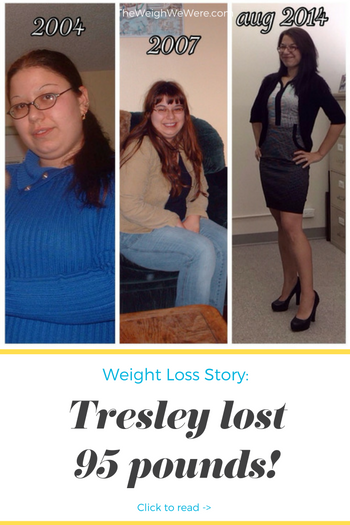Great success story! Read before and after fitness transformation stories from women and men who hit weight loss goals and got THAT BODY with training and meal prep. Find inspiration, motivation, and workout tips | 95 Pounds Lost:  Slow progress is better than no progress