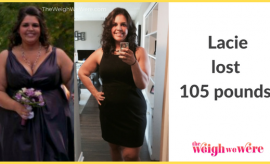 Lacie Lost 105 Pounds