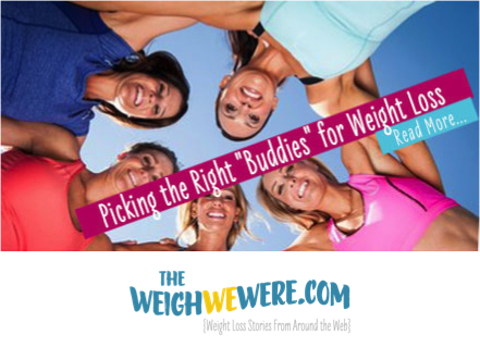 Picking the right buddies for weight loss
