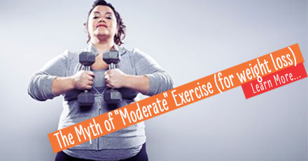 Great success story! Read before and after fitness transformation stories from women and men who hit weight loss goals and got THAT BODY with training and meal prep. Find inspiration, motivation, and workout tips | The Myth of Moderate Exercise (for weight loss)