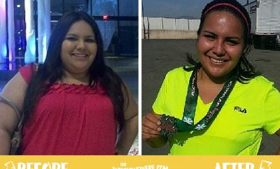 85 lbs and Half Marathon later