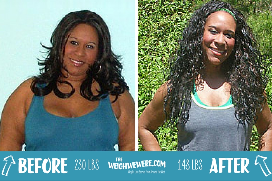 Great success story! Read before and after fitness transformation stories from women and men who hit weight loss goals and got THAT BODY with training and meal prep. Find inspiration, motivation, and workout tips | 82 Pounds Lost: With One Negative Comment, Cherie Starts Positive Changes