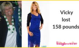 Vicky Lost 158 Pounds