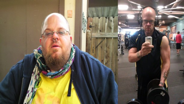 How i lost 230lbs with no job, no home, and no emotional support.