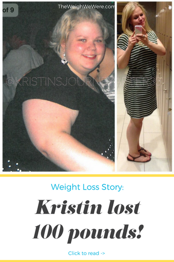 Great success story! Read before and after fitness transformation stories from women and men who hit weight loss goals and got THAT BODY with training and meal prep. Find inspiration, motivation, and workout tips | 100 Pounds Lost:  Kristins Journey After 30