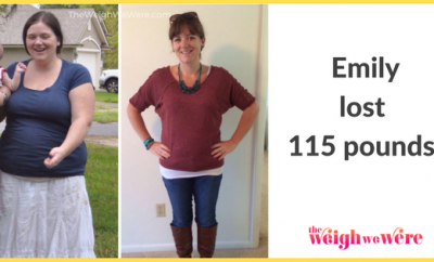 115 Pounds Lost:  Losing the weight and finding myself