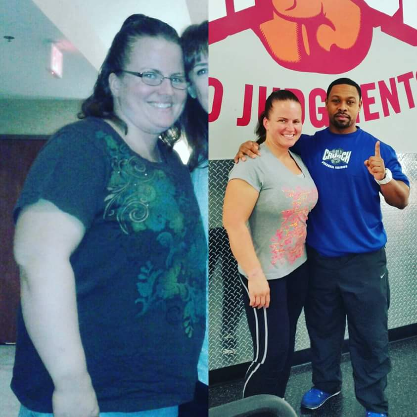 Great success story! Read before and after fitness transformation stories from women and men who hit weight loss goals and got THAT BODY with training and meal prep. Find inspiration, motivation, and workout tips | 230 Pounds Lost:  Needed to Help Myself Before I Could Help Others