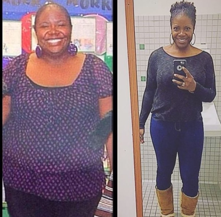 Great success story! Read before and after fitness transformation stories from women and men who hit weight loss goals and got THAT BODY with training and meal prep. Find inspiration, motivation, and workout tips | 100 Pounds Lost:  Melting Tiffany: Mind and Body